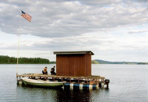 баня на лодке арендарь
